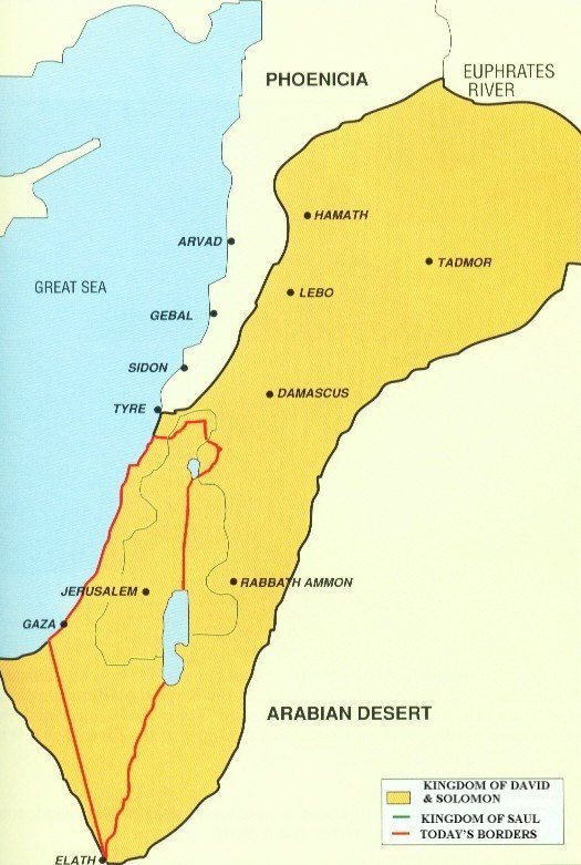 Arieh Eldad Two States For Two Nations On Both Sides Of The - Map ancient egypt jordan river