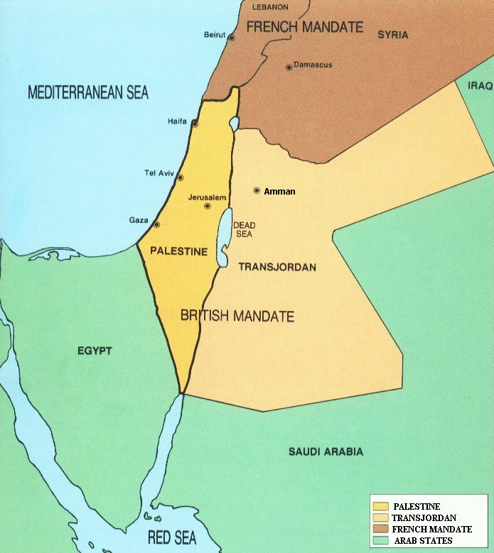 Jordan River Middle East Map.Arieh Eldad Two States For Two Nations On Both Sides Of The Jordan